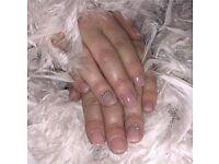 Nail technician, Gelnails, SNS acrylic dipping nails, Dermaplane, dermaroller, chemical skin peels
