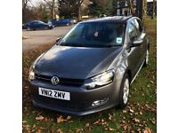 2012 12 Volkswagen Polo 1.2 Match TDI **low mileage example** £20 a year road tax