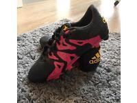 Jnr Adidas X 15.3 Football boots UK size 4