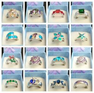 Brand New - Sterling Silver Rings 925 Stamped