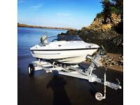Speed boat fletcher 14ft