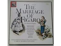 Opera Box Set - Mozart The Marriage of FIGARO - EMI Giulini SLS 5152