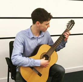 Guitar Tutor - one to one acoustic or classical guitar lessons Leeds