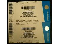 Evanescence Synthesis tickets!! Royal Festival Hall. Face value!!