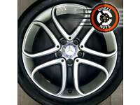 """17"""" Genuine Mercedes A Class alloys perfect cond matching tyres."""