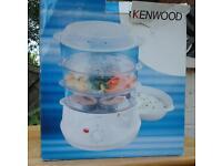 kenwood 3 tier steamer