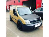 Gold Ford transit connect