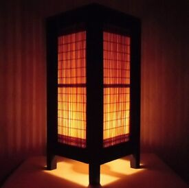 Thai handmade bedside table lamp