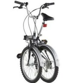 BRAND NEW Challenge flex 20inch folding bikes, one for £70 or both for £130
