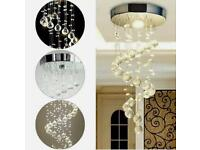 Modern Crystal Ceiling Light Chandelier Lamp