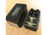 Mesa Boogie Throttle Box Distortion Guitar Effects Pedal