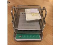 Ikea Office Sliding Drawers Letter Tray Storage