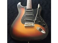 Vintage 1990'S Fender Squier Silver Series Stratocaster (MIJ) in very good condition for sale