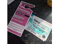 Creamfields silver 4 day camping ticket