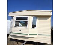 Static Caravan for Sale- Double Glazed and Central Heated- 2 BEDROOMS 35X12FT
