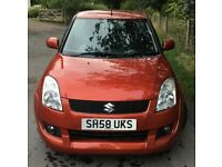 Suzuki Swift 1.3 Attitude Limited Edition MOT JULY 2019 Cheap 3 Door In Burnt Orange 2009 58 Plate