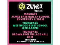 Zumba Fitness Class in Knypersley/Biddulph