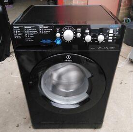 Indesit XWD71452XK Innex 7kg 1400 Spin A++ Washing Machine In Black