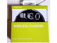 Brand new sealed wireless Samsung galaxy chargers pad charging wireless phones