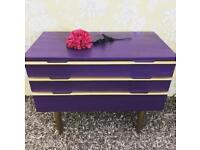 Mid century / retro style Avalon chest of drawers statement piece