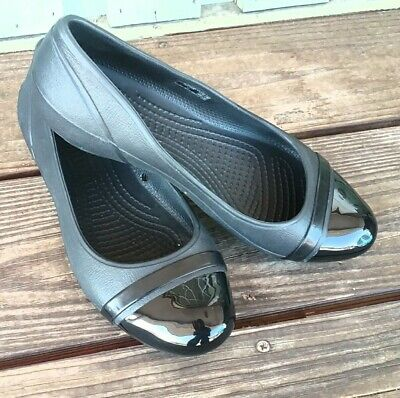 Crocs Black Ballet Flats  for sale  Shipping to India
