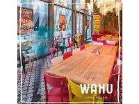 Team Member & Waiter / Waitress - Wahu, Spinningfields