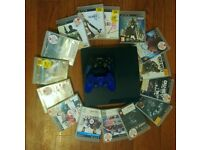 Playstation 3 Slim - 150gb + 15 games included!