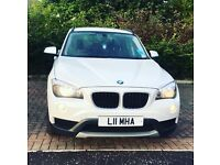 Emaculate white 63 plate BMW X1 for sale