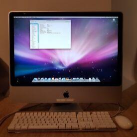 "Apple iMac A1225 24"" Desktop - MA878B/A (August, 2007)"