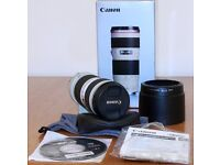 Canon EF 70-200mm f4L USM - AS NEW 'MINT CONDITION'