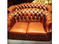 ORIGINAL Chesterfield Matching 3&2 Suite