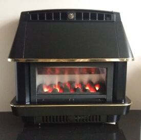 Robinson Willey Firecharm 4.4 Electronic Gas Fire (Black)