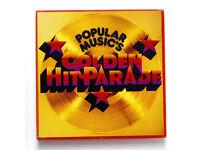 POPULAR MUSIC'S GOLDEN HIT PARADE 8 LP BOX SET.