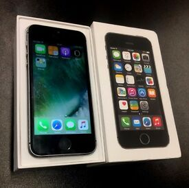 iPhone 5S 16GB SPACE GRAY EE T-MOBILE VIRGIN BOXED ACCESSORIES APPLE SEPTEMBER 2017 WARRANTY