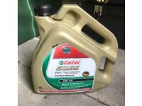 Castrol Edge FST Turbo Diesel 5W 40 fully synthetic car motor oil