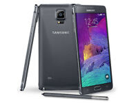 Samsung Galaxy Note 4 - 32 GB - Charcoal Black - Unlocked Refurbished Grade A