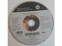 HP Compaq Genuine Windows 7 Operating System Reinstallation Repair Recovery DVD