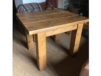 Indigo Furniture Plank Top Table