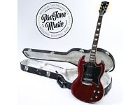 2011 Gibson SG Standard P90 Heritage Cherry Red & Gibson Hard Case