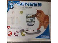 Senses cat feeding maze
