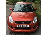 Suzuki Swift 1.3 Attitude Limited Edition MOT JULY 2019 Cheap 3 Door In Burnt Orange 2009 58 Plate