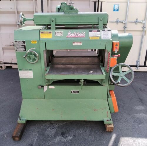 """Northfield No. 7 24"""" Planer w/Grinding Attachment & Helical Head"""