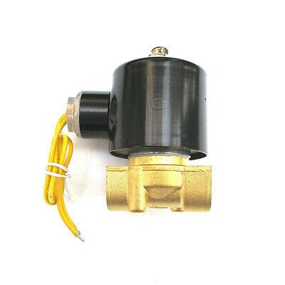 38 Solenoid Valve 110v115v120v Dc Brass Electric Air Water Gas Diesel Normal