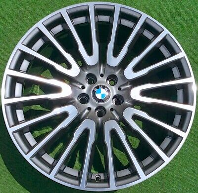 Factory BMW 21 inch Wheels OEM 745i 750i Perfect 629 Individual for F01 7-Series