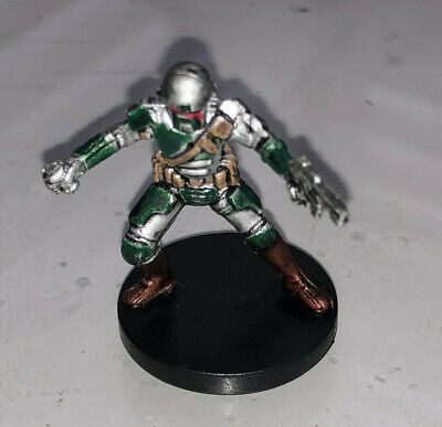 Star Wars Miniatures Knights of the Old Republic MANDALORIAN CAPTAIN #56
