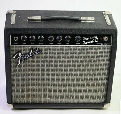 "Fender Harvard Reverb II 20W 1x10"" Amplifier 1983 All Original CLEAN! WORKS100%"