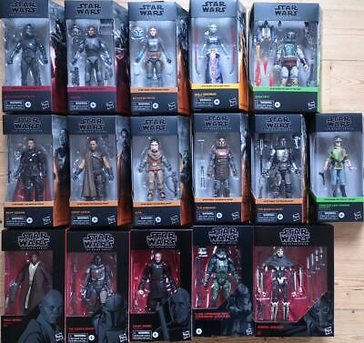 Star Wars The Black Series Figuren Zur Auswahl - Neu & Ovp