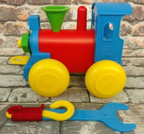 Tupperware New Train Tupper~Toy Build N Play Plastic Train for Children