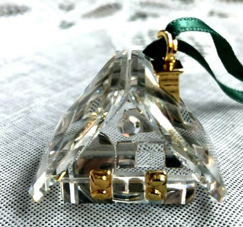 SWAROVSKI CRYSTAL MEMORIES - ORNAMENT COLLECTION - GINGERBREAD HOUSE