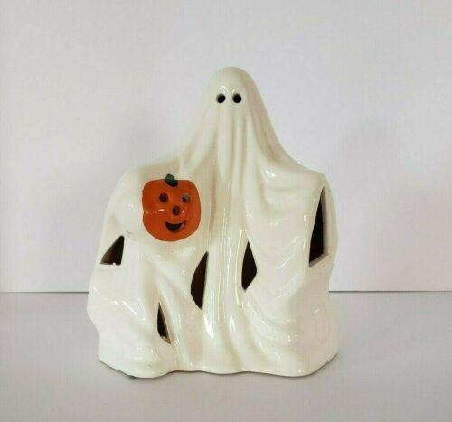"""Vtg 6"""" Ghost Holding Jack O"""